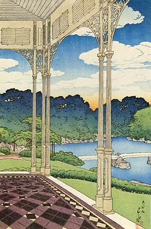 Garden of Iwasaki Villa_1920