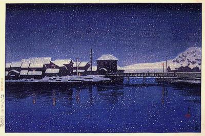 Ebisu Harbor, Sado Island 1921