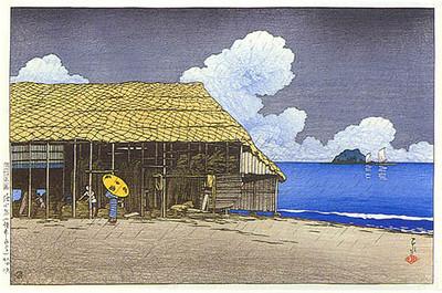 Beach House, Etchu 1921