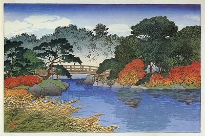 Garden in Autumn_1920