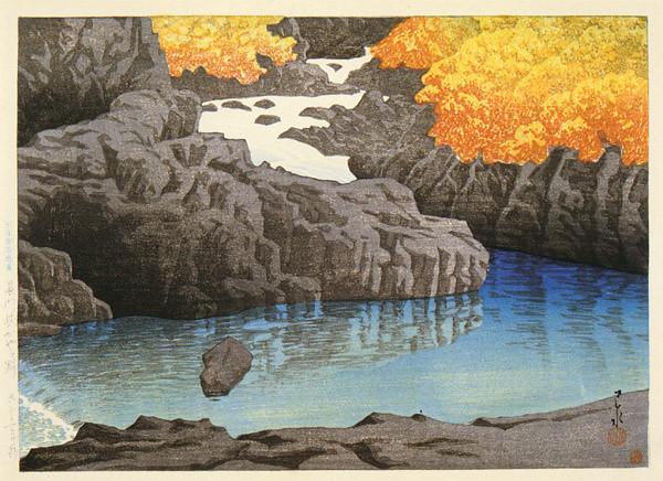 Chomon Ravine at Kayagafuchi 1922