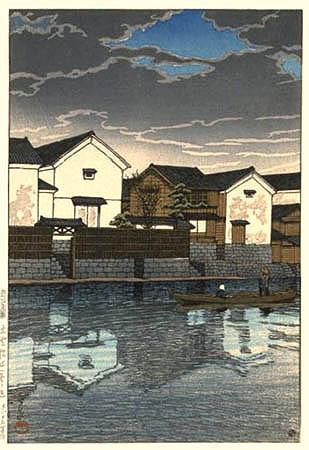 Cloudy Day at Matsue, Izumo 1924