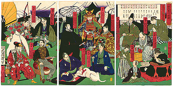Linage Tokugawa Shoguns