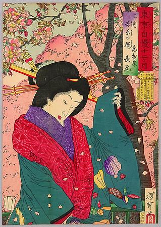 Beauty Nagao - Pride of Tokyo Twelve Months - Yoshitoshi