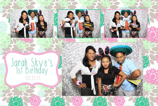Jarah's First Birthday (Fusion Photo Booth)