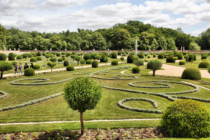 Arredores do Palácio de Chenonceau