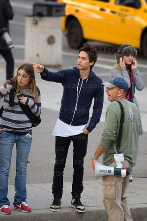 "Director,Actor,Musician and Singer Jared Leto from the band "" Thirty Seconds To Mars "" is doing a clip for the band in Santa Monica,California."