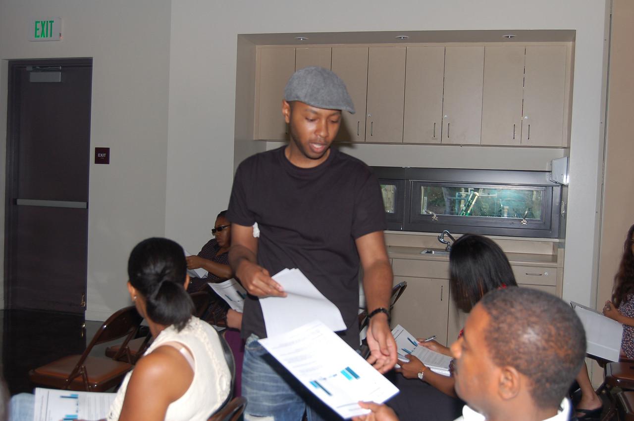 Jarim teaching