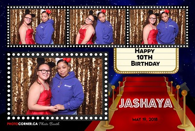 Jashaya's 10th Birthday - 05-19-2018