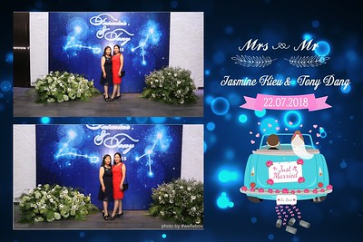 Jasmine & Tony Wedding Photobooth - Chụp hình in ảnh lấy liền Tiệc cưới