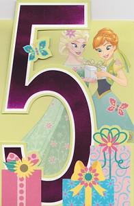 5th Birthday 5a