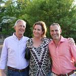 Chris Tate, Kathy Sullivan and host Jason Middleton.
