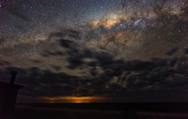 Lake Mungo Milky Way