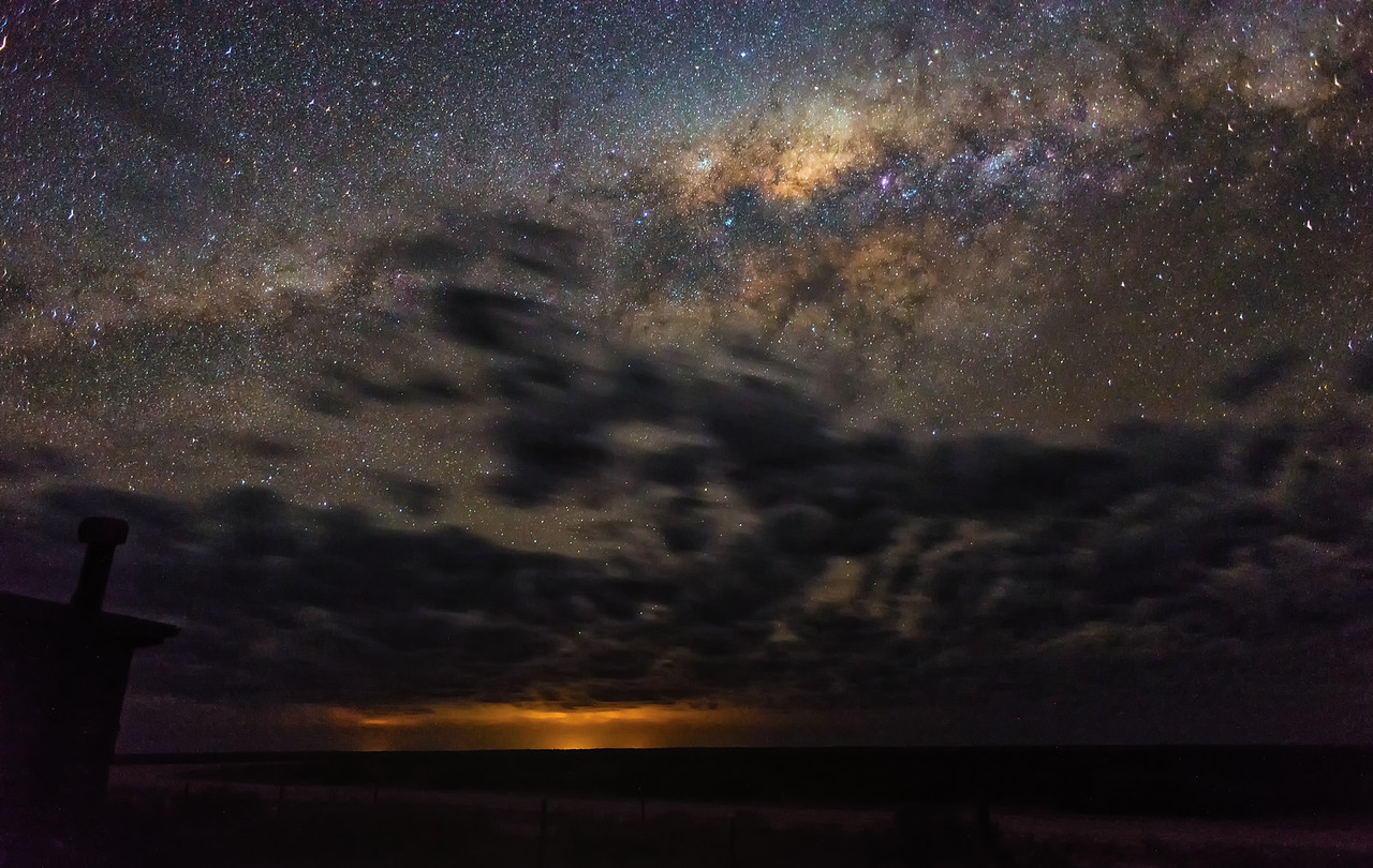 Lake Mungo Milky Way