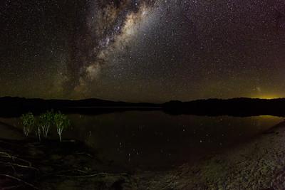 Lake Boorangoora Milky Way - I
