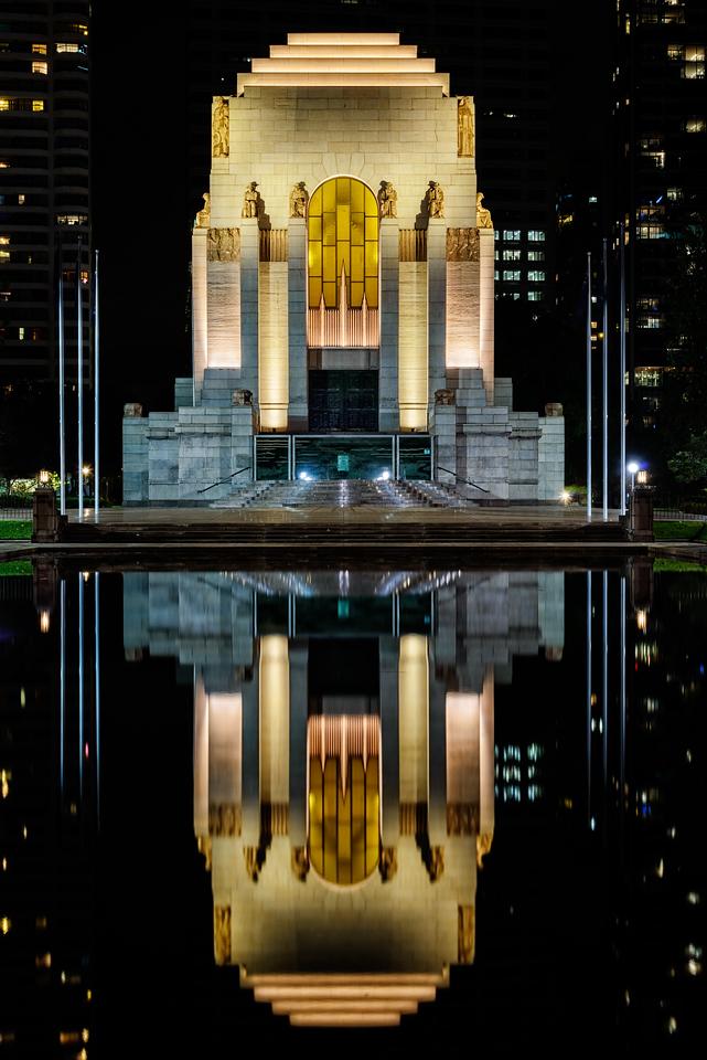 Reflect - ANZAC War Memorial