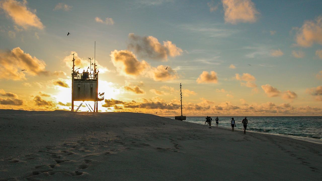 Flinders Sand Cay Sunset