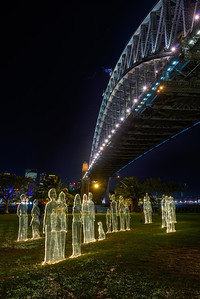 Vivid Sydney - Sea of People