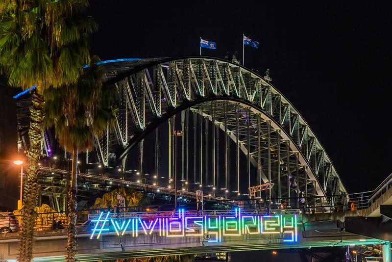 Vivid Sydney - Hashtag