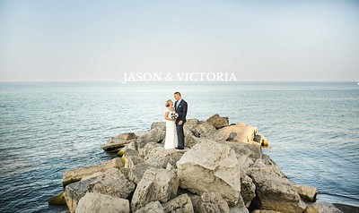 Jason & Victoria's Lakeview by Carmen's Wedding