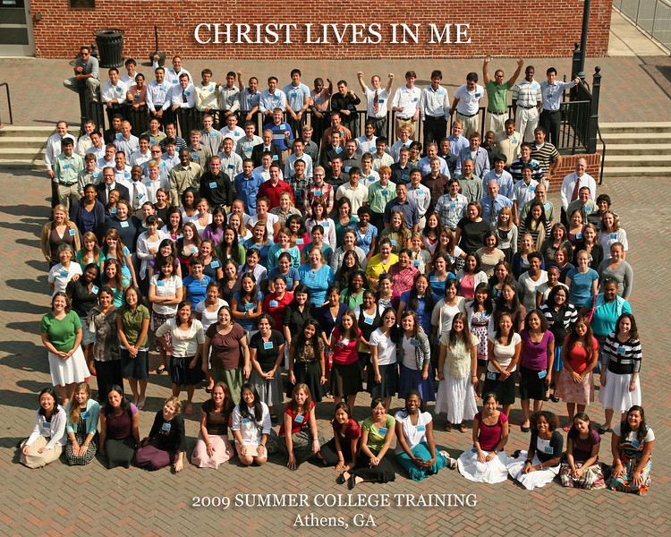 2009 East Coast College training Group photos