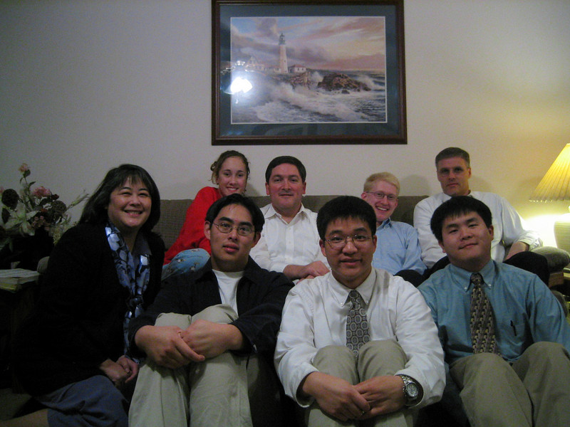 December 28th, 2003 Winter Training Hospitality at Shimazu's