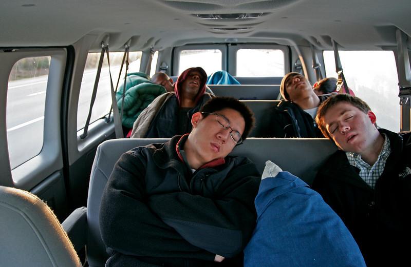driving my passengers asleep