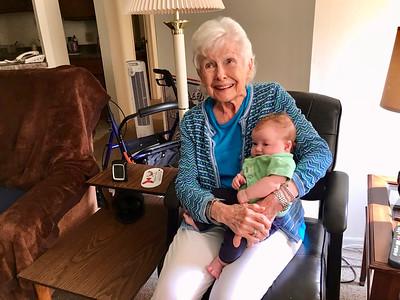 Geneveive & Great-Grandma