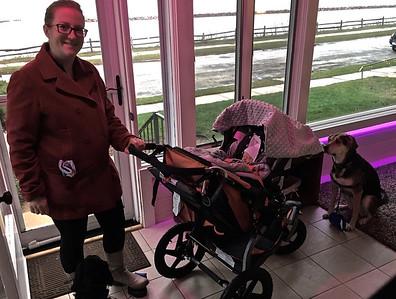 First stroller walk
