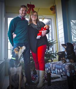 Christmas 2015 Family Portrait