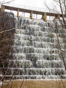 Dam overflow.