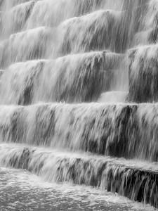 Dam overflow, slow shutter