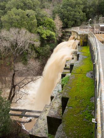 Water flow at JRBP 11 Jan 2017