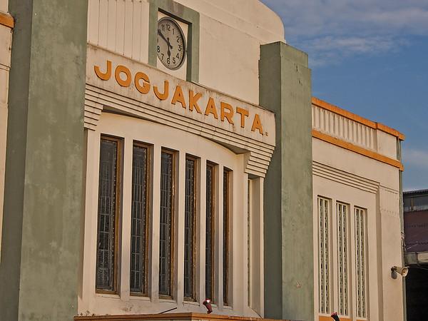 Train from Jogyakarta to Malang