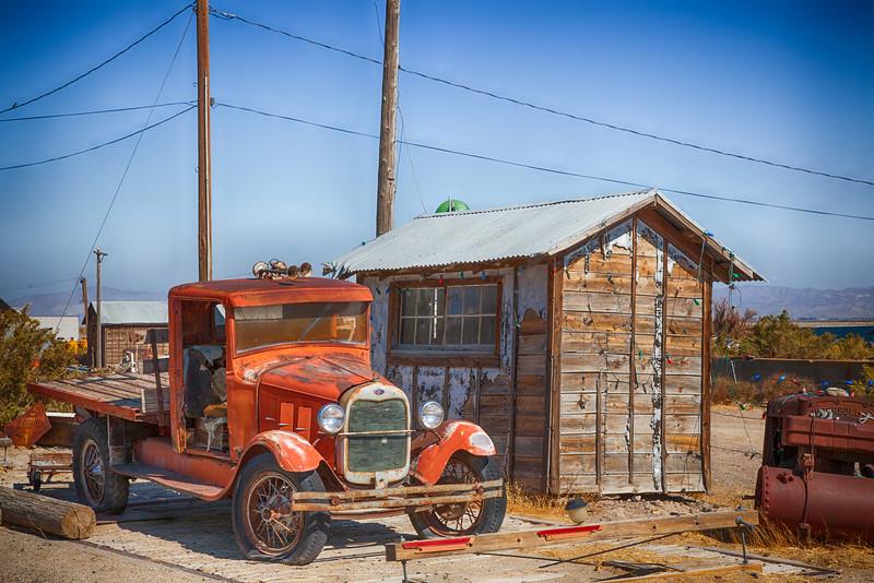 Old Truck - Somewhere, Nevada