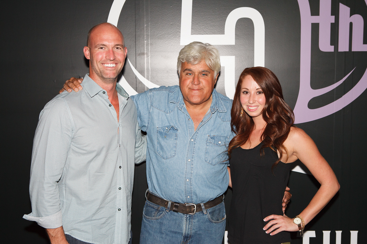 Jay Leno performs at The Joint