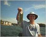 Jay P fishing Lakehouse - Summer 2003