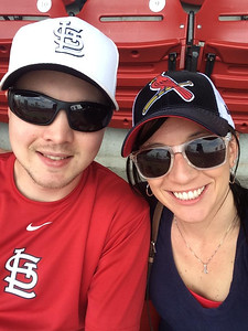 Cardinal's Baseball Game Karisa's 25th Birthday