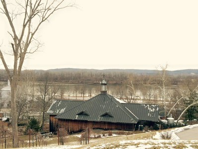 HermannHof Inn in Hermann, Missouri View from Hermannhof Jay & Karisa's Engagement - 02/22/2015