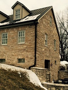 HermannHof Inn in Hermann, Missouri Brahms Suite in Berger Grass Cottage - Front Jay & Karisa's Engagement - 02/22/2015
