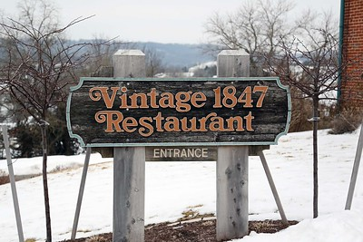 Vintage 1847 Restaurant in Hermann, Missouri Jay & Karisa's Engagement - 02/22/2015