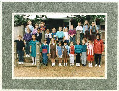 Second Grade - Age 8 Grace Christian School - 1993