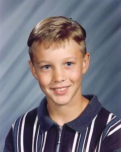 Sixth Grade - Age 12 Holman Middle School - 1997
