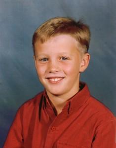 Fourth Grade - Age 10 Grace Christian School - 1995