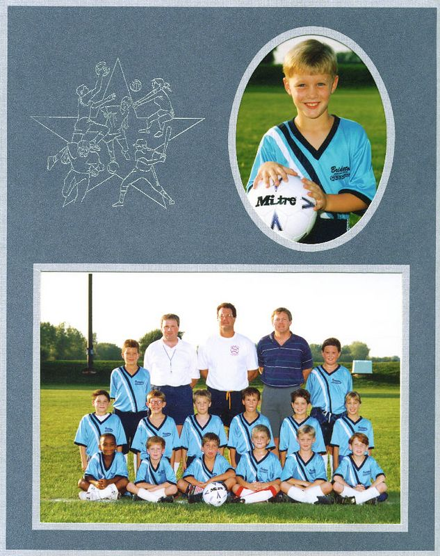 <big>Jay - 2nd Grade Soccer</big><BR> Bridgeton Athletic Association - 1993