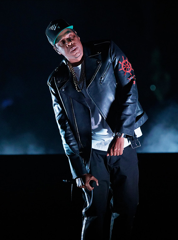 . Jay Z live at Little Caesars Arena on 11-18-2017.  Photo credit: Ken Settle