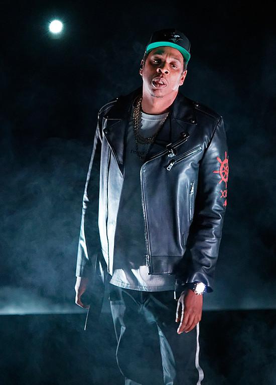 . Jay Z live at Little Caesars Arena on 11-18-2017.  Photo credit: Ken Settle