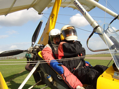 Flight Experiences At Duxford March 2007