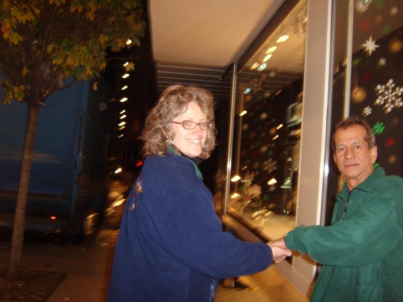 Kay & Jay Oxford Street Xmas 2006
