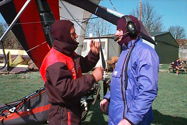 Steve's Flight Experience With Jay 30th March 2003